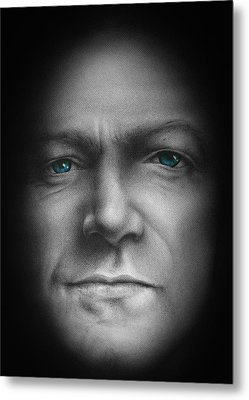 Bono - We Live In One World Metal Print by David Oakley