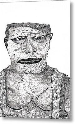 Boris Metal Print by Martin Blakeley