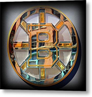 Boston Bruins Metal Print by Stephen Stookey