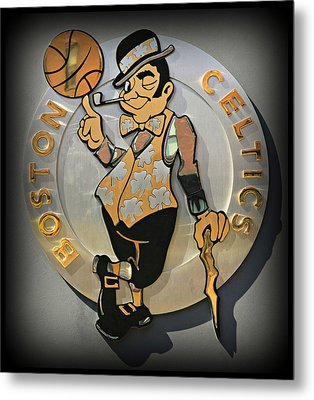Boston Celtics Metal Print