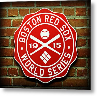 Boston Red Sox 1915 World Champions Metal Print