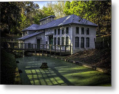 Boulware Springs Water Works Metal Print by Lynn Palmer