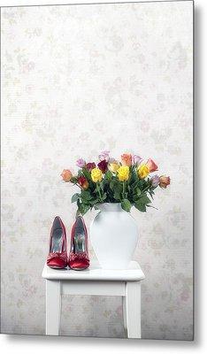 Bouquet Of Roses Metal Print by Joana Kruse