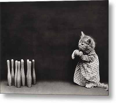 Bowling Alley Metal Print by Aged Pixel