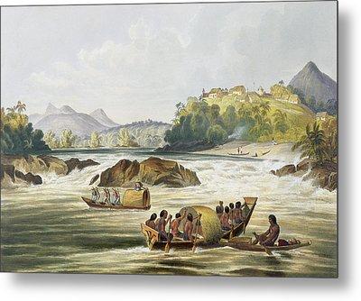 Brazilian Fort St. Gabriel On The Rio Metal Print