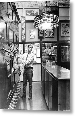 Brewery Or Bar? Metal Print by Retro Images Archive