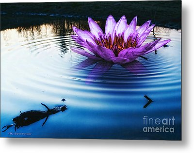 Brighter Than Stars Metal Print by Mo T