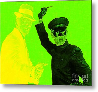 Bruce Lee Kato And The Green Hornet 20130216p54 Metal Print by Wingsdomain Art and Photography