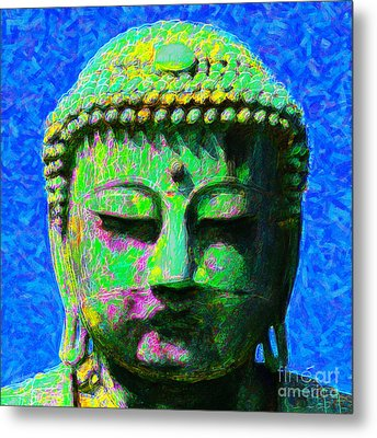 Buddha 20130130p0 Metal Print by Wingsdomain Art and Photography