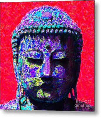 Buddha 20130130p128 Metal Print by Wingsdomain Art and Photography