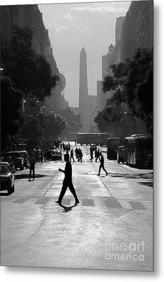 Buenos Aires Obelisk II Metal Print