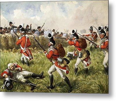 Bunkers Hill, 1775 Metal Print