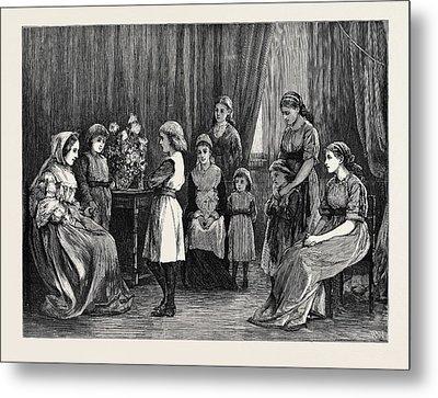 Bunyans Pilgrims Progress At Grosvenor House Metal Print by English School