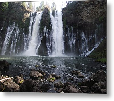 Burney Falls - The Eighth Wonder Of The World Metal Print by James Rishel