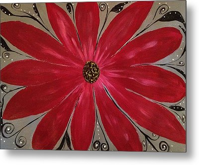 Bursting Out Metal Print by Sherry Flaker