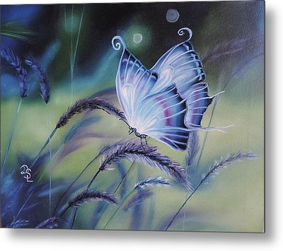 Butterfly Series #3 Metal Print by Dianna Lewis