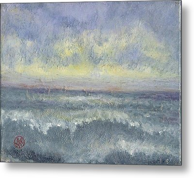 By The Sea Metal Print