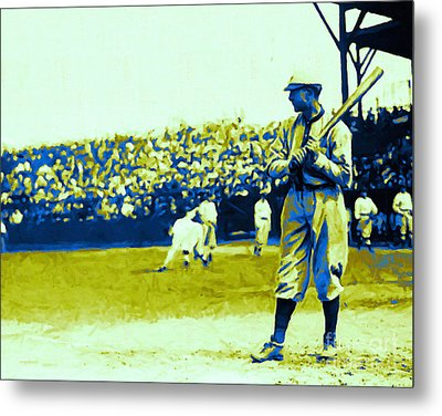 Cactus League - 20130207 Metal Print by Wingsdomain Art and Photography