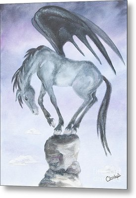 Metal Print featuring the painting Cadence by Cathy Cleveland