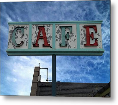 Cafe Metal Print by Glenn McCarthy Art and Photography