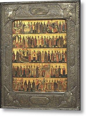 Calendar Of Saints And Festivals Metal Print