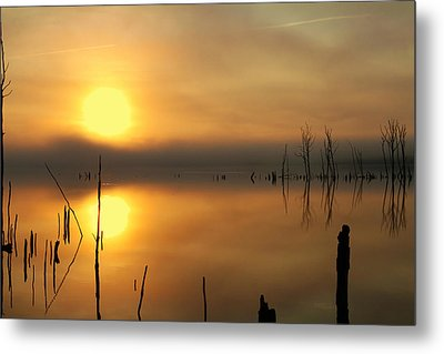 Calm At Dawn Metal Print