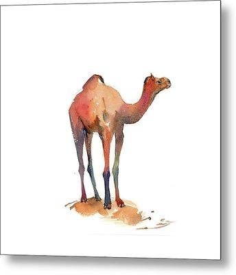 Camel I Metal Print