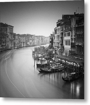 Canal Grande Study IIi Metal Print by Nina Papiorek