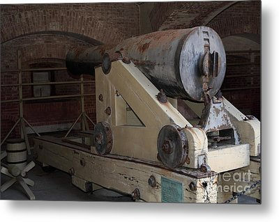 Cannon At San Francisco Fort Point 5d21499 Metal Print by Wingsdomain Art and Photography