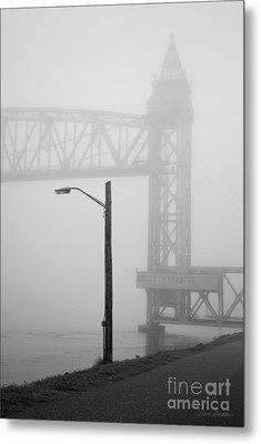 Cape Cod Railroad Bridge No. 3 Metal Print by David Gordon