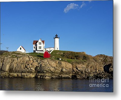 Cape Neddick Light Metal Print by John Greim