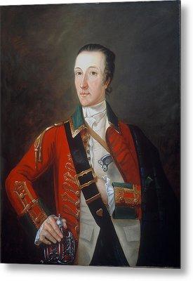 Captain James Gorry, 87th Regiment Metal Print