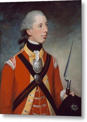Captain Thomas Hewitt, 10th Regiment Metal Print