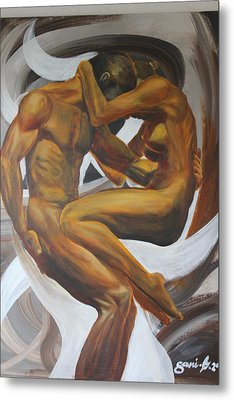 Caress Metal Print by Gani Banacia