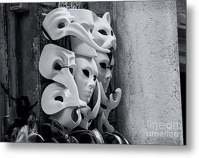 Carnival In Venice Metal Print by Design Remix