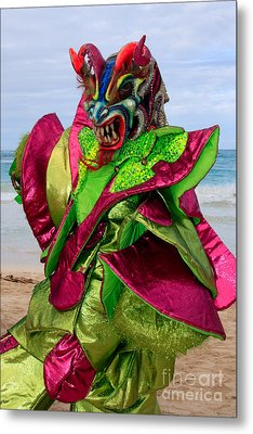 Carnival On The Beach Metal Print