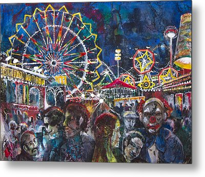 Carnival Metal Print by Patricia Allingham Carlson