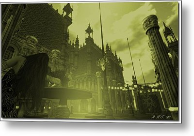 Carnivale - After Absinthe Metal Print by Amanda Holmes Tzafrir