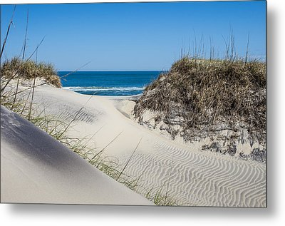 Metal Print featuring the photograph Carolina Blue by Gregg Southard