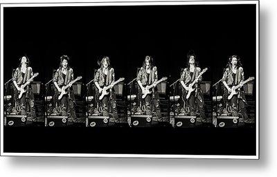Carolyn Wonderland Rockin' Metal Print by Darryl Dalton