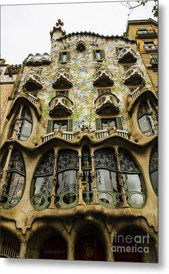 Casa Batllo Exterior Metal Print by Deborah Smolinske