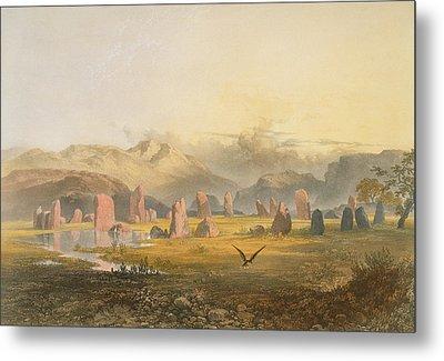 Castlerigg Stone Circle Near Keswick Metal Print by James Baker Pyne