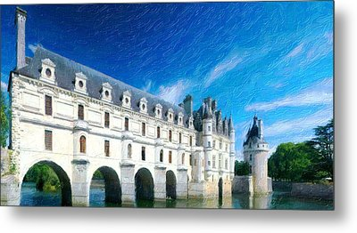 Castles Of France Metal Print by Lanjee Chee