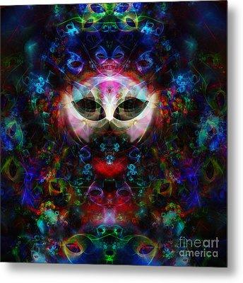 Cat Carnival Metal Print by Klara Acel