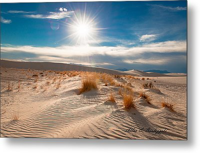 Metal Print featuring the photograph Catch A Wave by Allen Biedrzycki