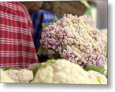 Cauliflower Metal Print by Terry Horstman