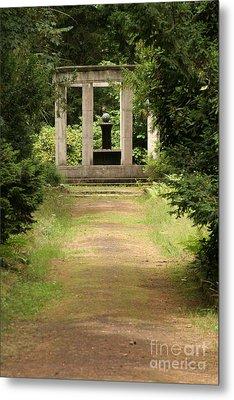 Cemetery Stahnsdorf Berlin Metal Print by Art Photography