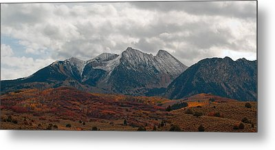 Metal Print featuring the photograph Chair Mountain  by Eric Rundle