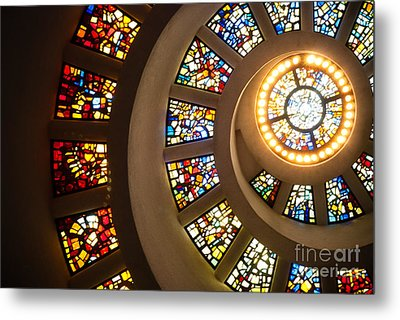 Chapel Of Thanksgiving Dallas Metal Print