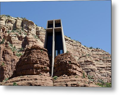 Chapel Of The Holy Cross Metal Print by David Gordon